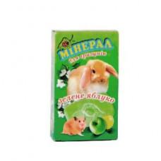 Мел для хомяка, кролика, морской свинки с яблоком, Природа