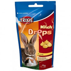 Лакомства для грызунов с молоком и медом Trixie Vitamin Drops (6024)