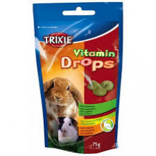 Лакомства для грызунов с овощами Trixie Vitamin Drops (6022)
