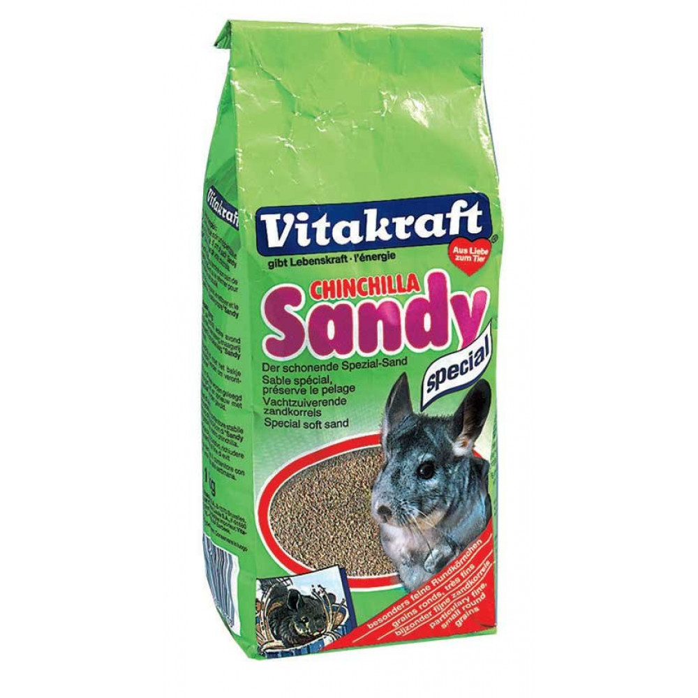 Песок для шиншилл Витакрафт Vitakraft Chinchilla Sandy