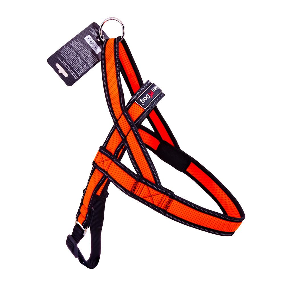 Шлея Alfresco Y неопрен 3.2*75 80-100см, оранжевый