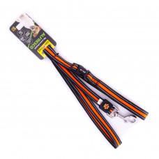 Поводок Alfresco неопрен+флис 2.0*120см, оранжевый