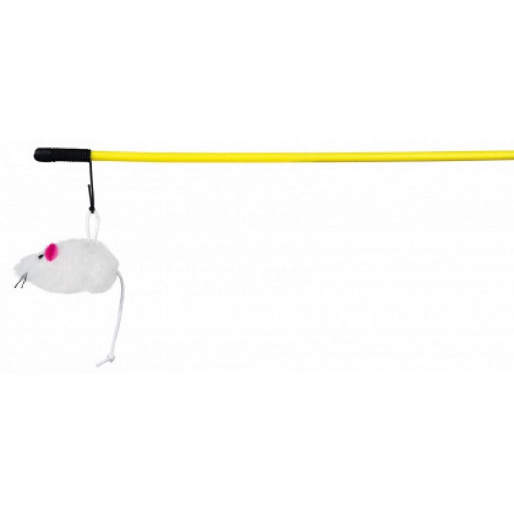 Удочка дразнилка для кошек с мышкой 50 см Trixie (4105)