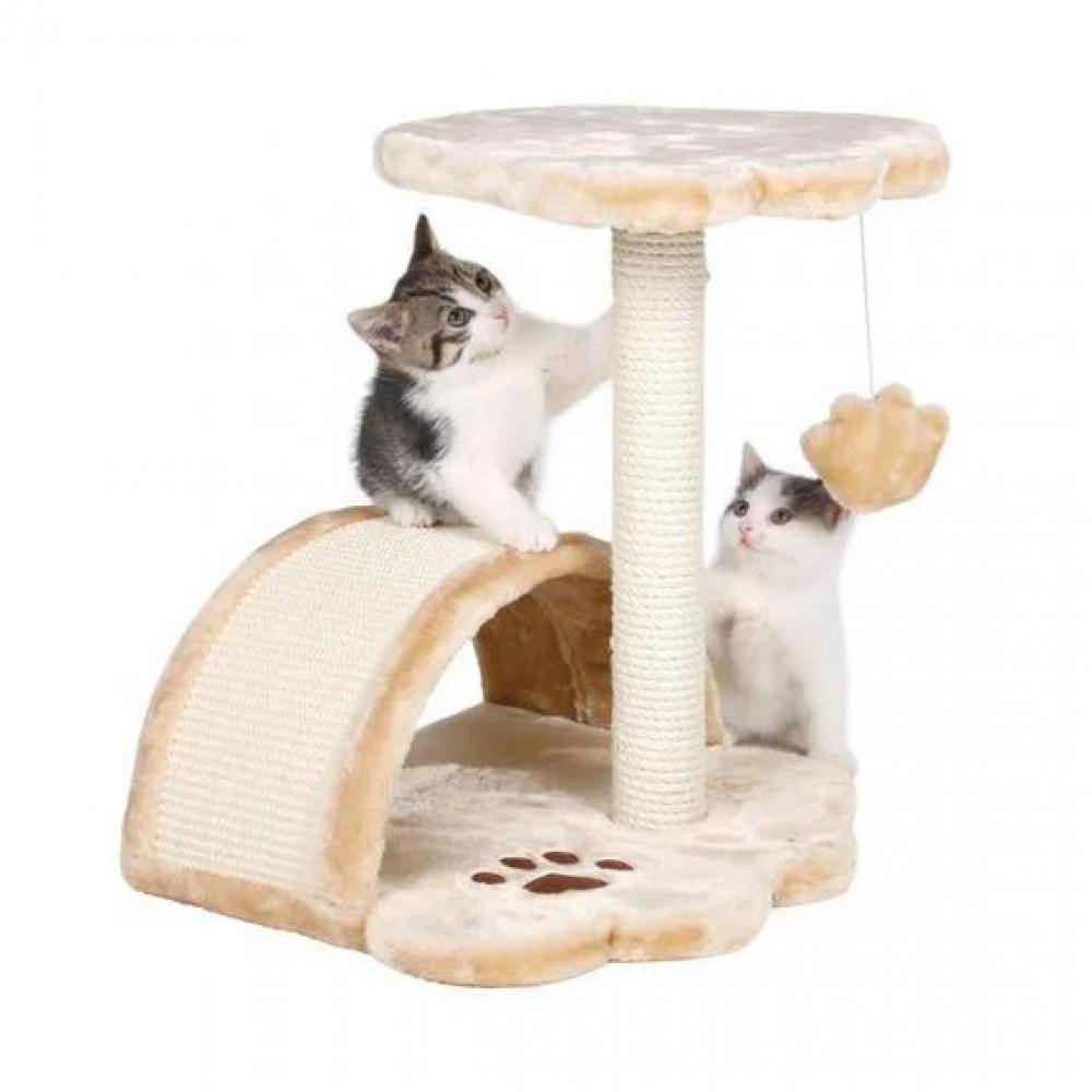 Когтеточка с домиком для кошек и котят Vitoria Trixie (43751)