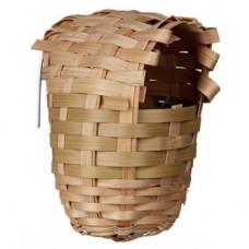 Гнездо для попугаев из бамбука Trixie, маленькое (5600)