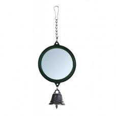 Зеркало для попугая с колокольчиком пластиковое Trixie (5215)