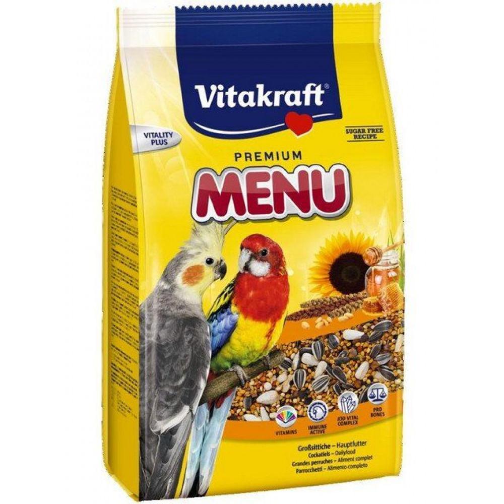 Корм для кореллы и других средних попугаев Vitakraft (Витакрафт) Menu 1 кг