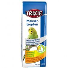 Витамины для попугаев в период линьки Trixie Mauser Тropfen (5029)