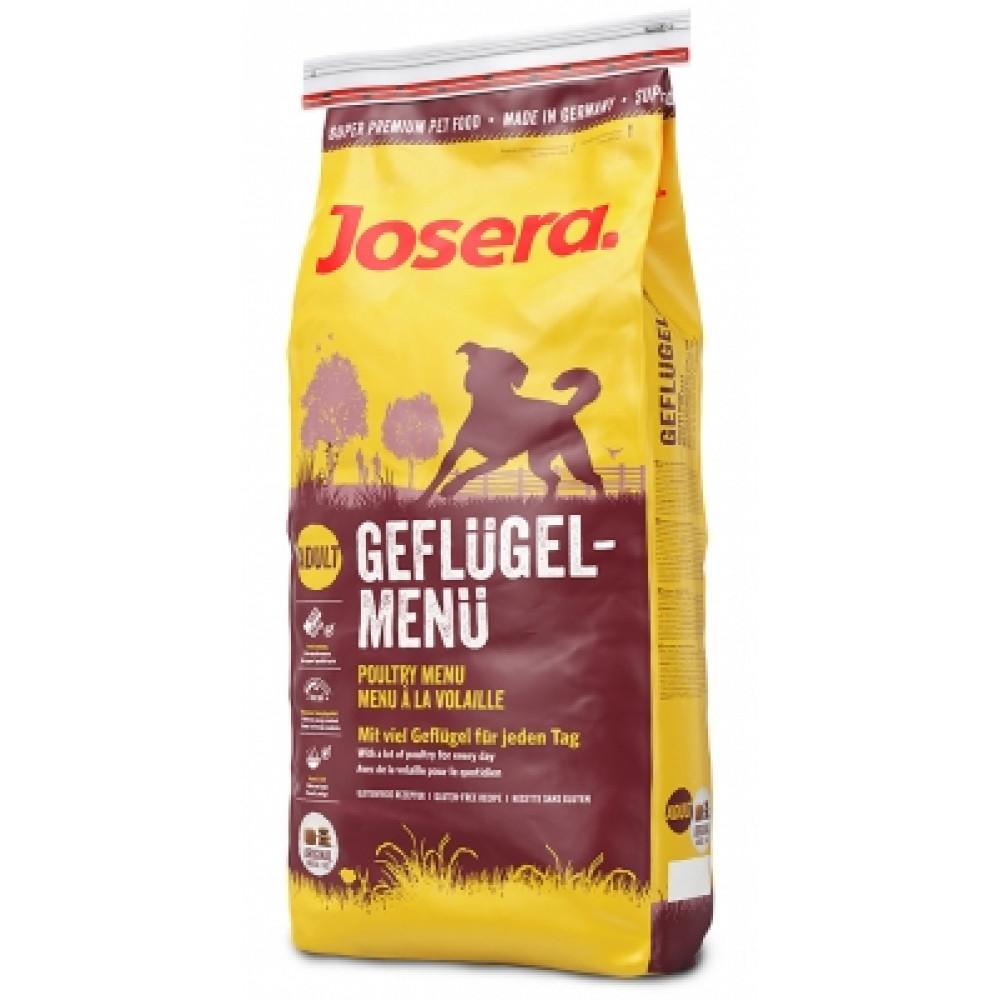 Josera Geflugel Menu корм для собак 15 кг