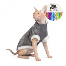 """Свитер для кота Pet Fashion """"TOM"""" графит"""