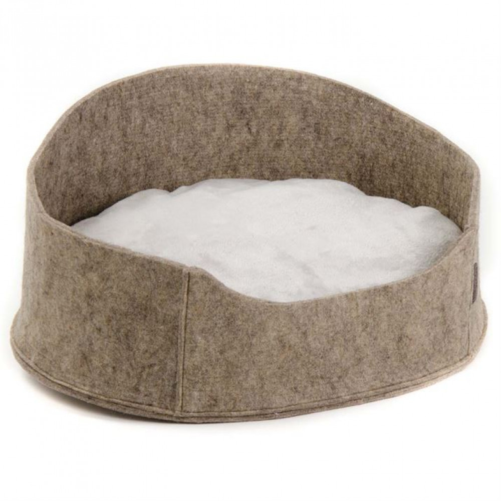 """Лежак для собак и кошек """"Бали"""" коричневый 22х37х48 см"""