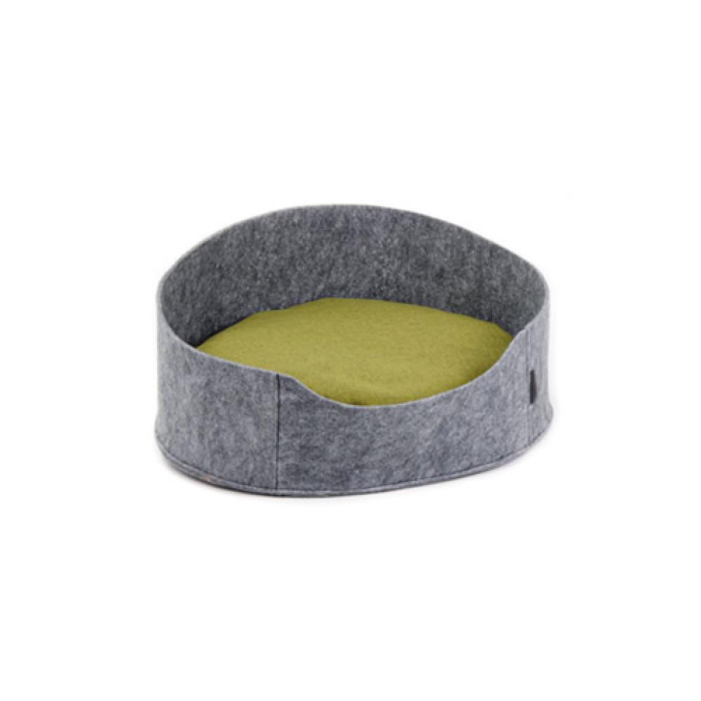 "Лежак для собак и кошек ""Бали"" серый 22х37х48 см"