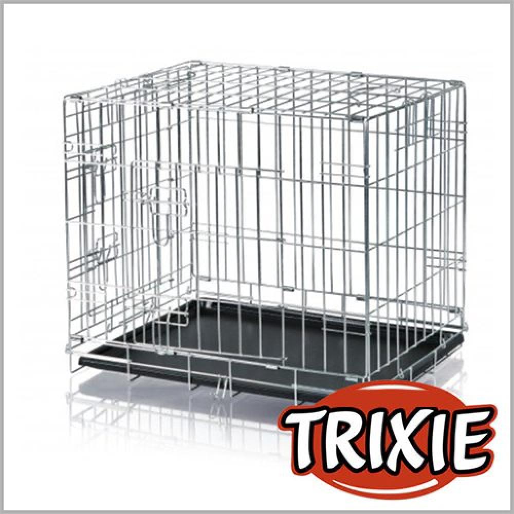 Клетка для собак на 2 двери 78*62*55 см, Trixie (Трикси)