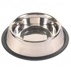Металлические миски для собак на резинке TRIXIE