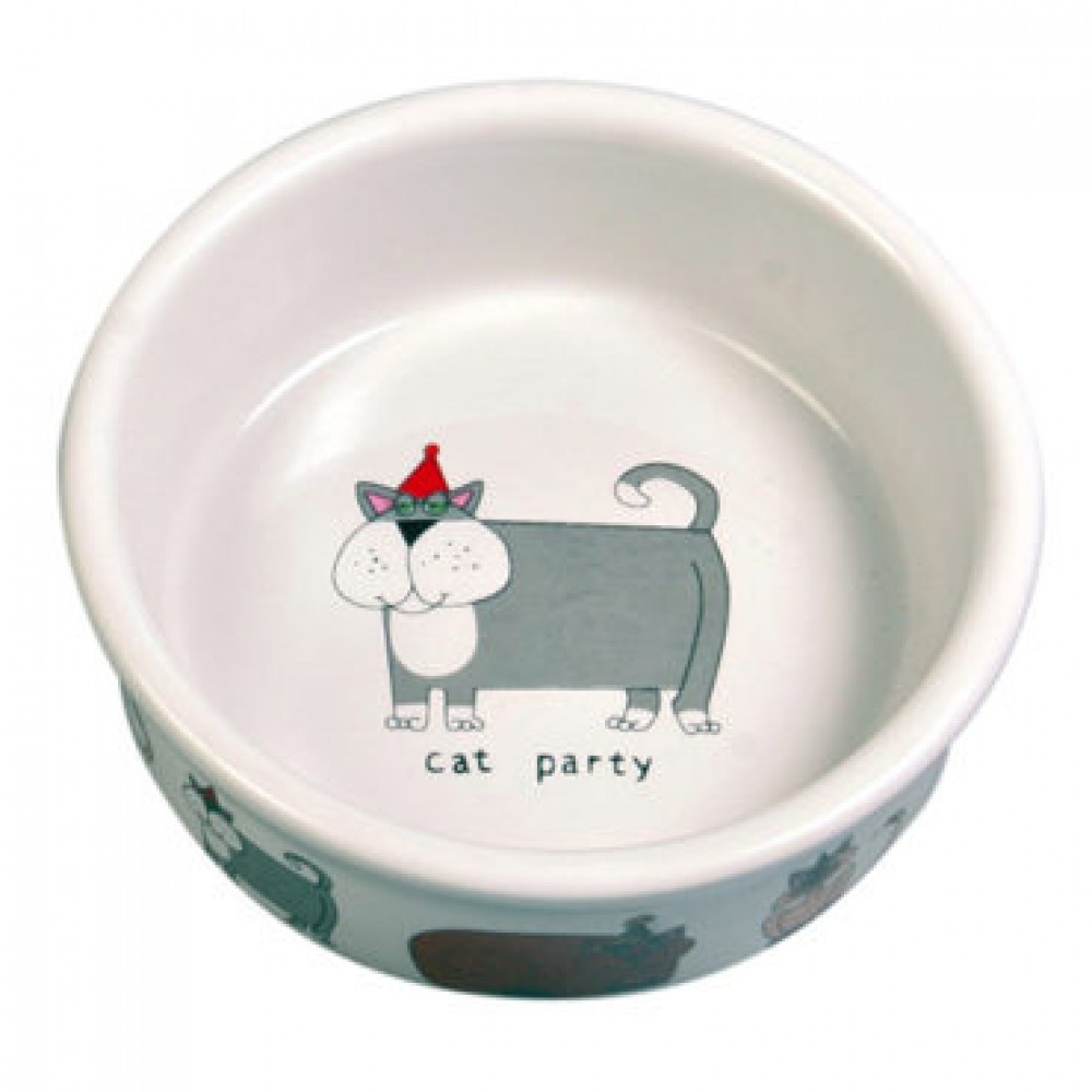 Миска для кошек керамическая Trixie 0.2 мл (4008)