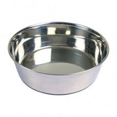 Миска для собак металлическая на резиновом основании Trixie