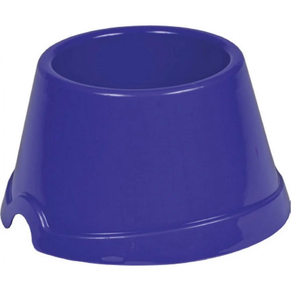 Миска для спаниеля, пластиковая 0.75 л