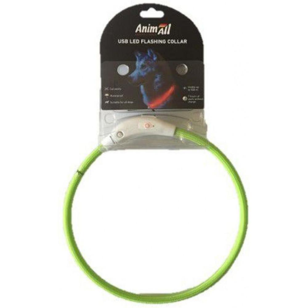 AnimAll (Энимал) ошейник светящийся 50 см