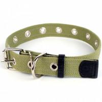 Брезентовый ошейник для собак безразмерный, Collar