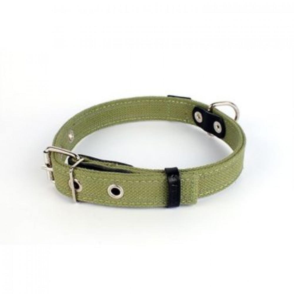 Брезентовый ошейник для собак двойной, Collar