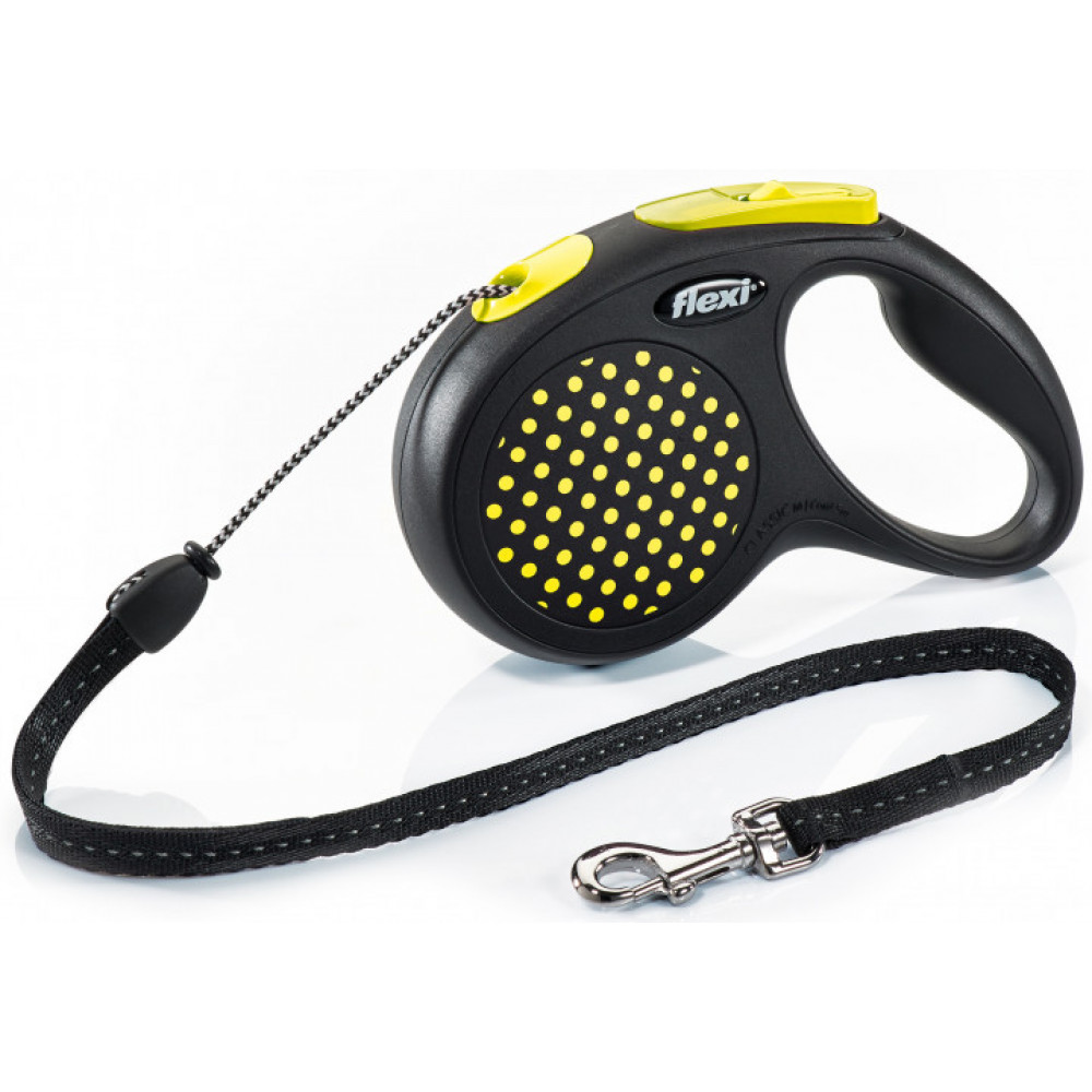 """Рулетка для собак """"FLEXI"""" DESIGN XS до 8 кг 3 метра (трос)"""