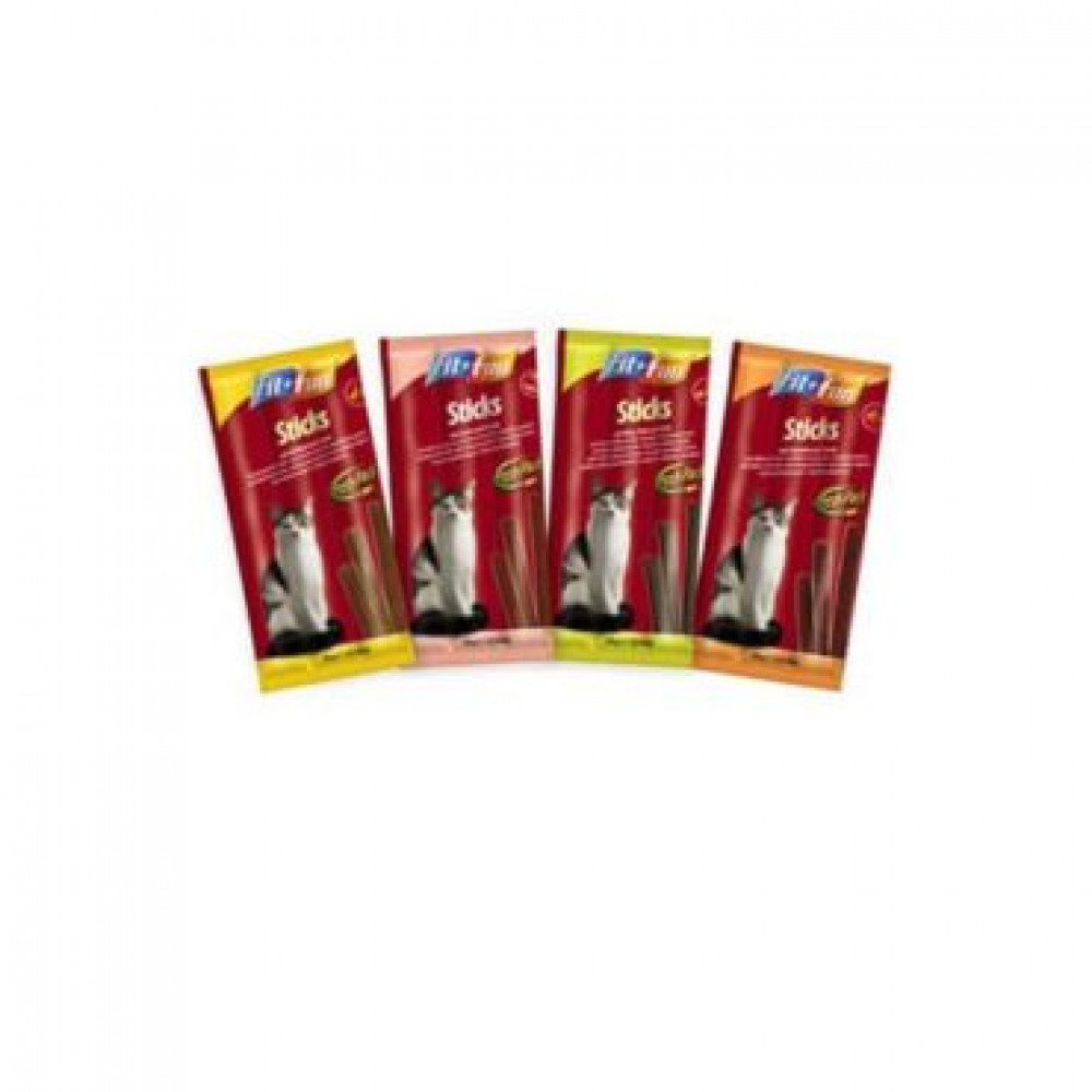FitFun Sticks палочки для котов с ягненком и индейкой 10 шт.