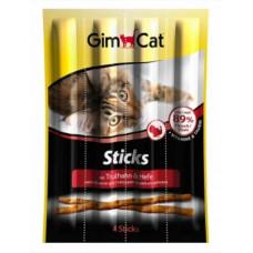 Gimpet Sticks палочки для кошек с индейкой и дрожжами 4 шт.