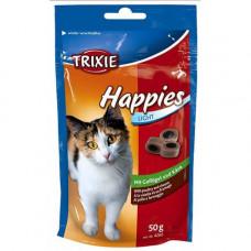Лакомства для кошек Happies с птицей и сыром Trixie (4260)