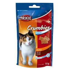 Лакомства для кошек Trixie Crumbies с выведением шерсти (4262)