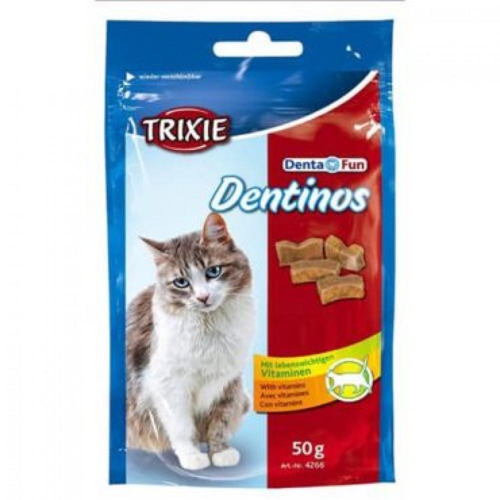 Лакомства для кошек Trixie Esquisita Dentinos для зубов (4266)