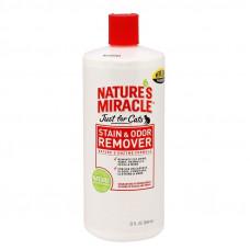 Уничтожитель запахов и пятен для кошек Nature's Miracle Stain&Odor Remover 473 мл