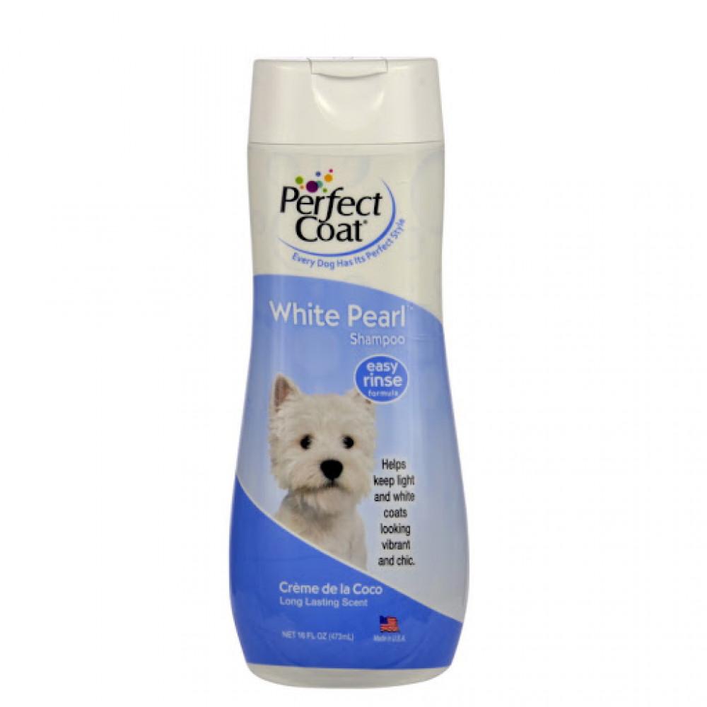 Шампунь для белых собак 8в1 (8in1) White Pearl 473 мл