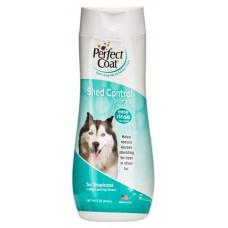 Шампунь для собак против линьки 8в1 (8in1) Perfect Coat Shed Control Shampoo 473 мл
