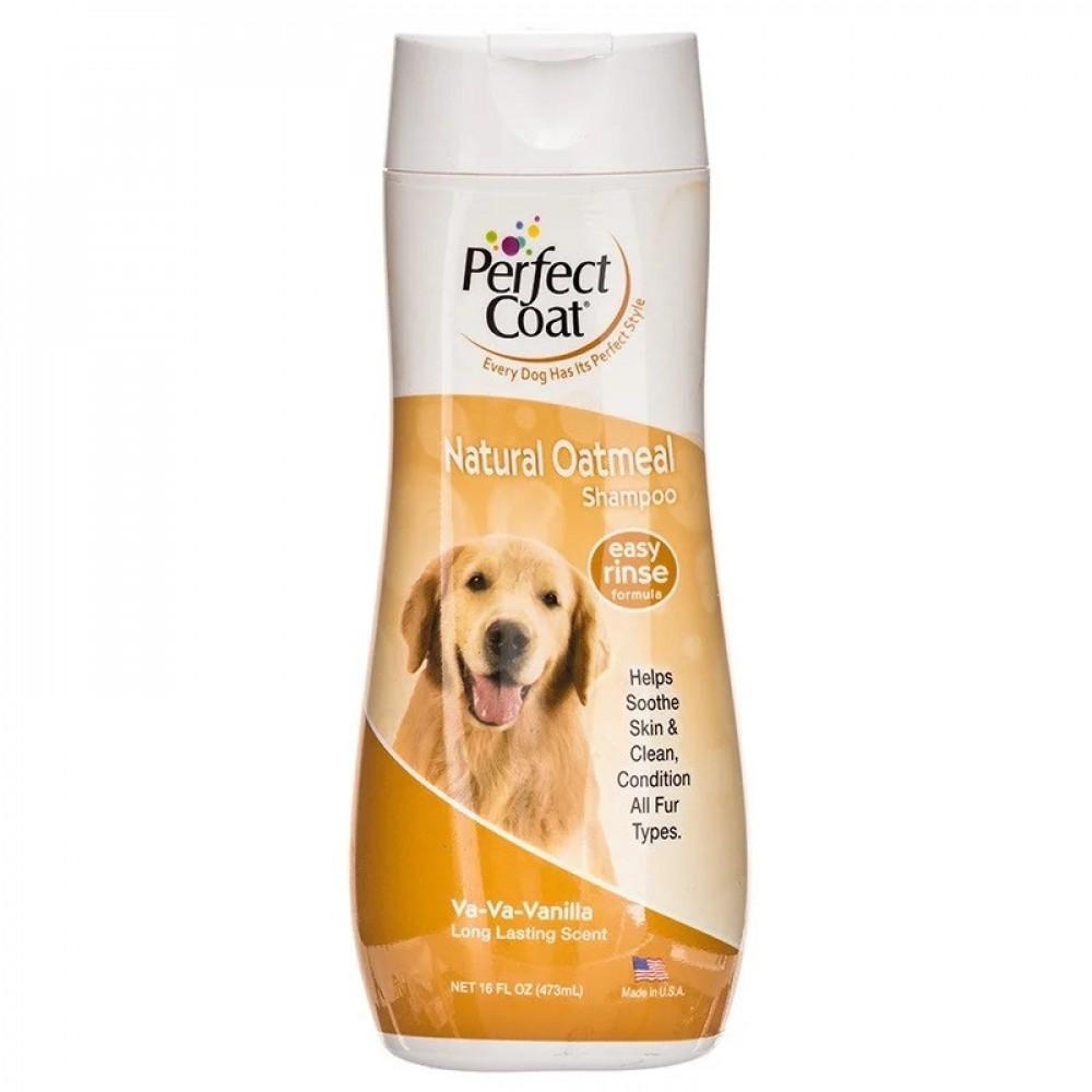 Шампунь для собак с овсяной мукой 8в1 (8in1) Natural Oatmeal 473мл