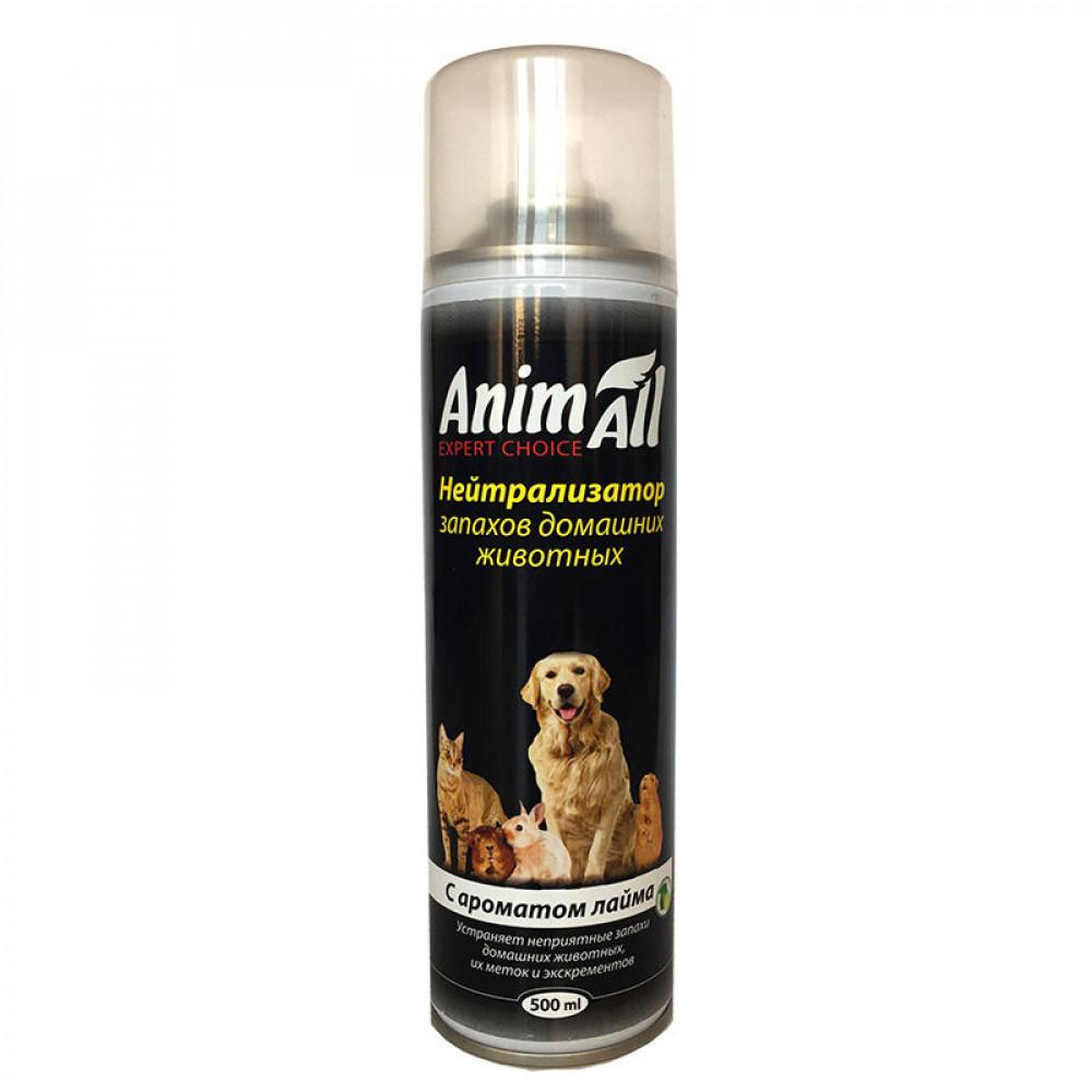 "Нейтрализатор запахов домашних животных с ароматом лайма ""Animall"" 500 мл"