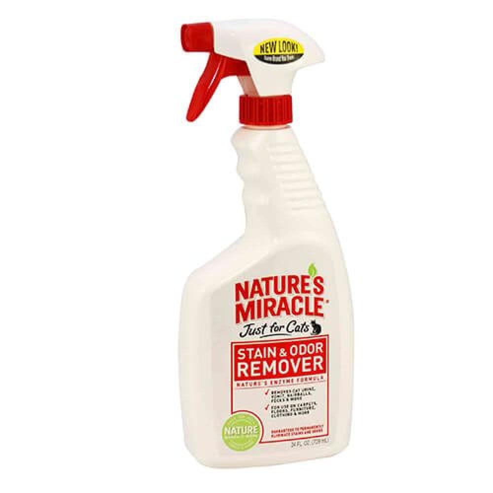 Универсальный уничтожитель пятен и запахов Nature's Miracle Stain & Odor Remover 946мл