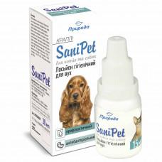 Лосьон гигиенический для ушей собак и кошек, SaniPet 10 мл