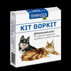 """Фитокомплекс для коррекции поведения у собак и кошек """"Кіт Воркіт"""" (3 фл.)"""