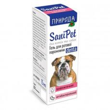 Гель для ухода за ротовой полостью собак и кошек, SaniPet 10 мл