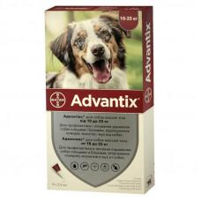 Адвантикс (Advantix) для собак 10-25 кг капли от блох и клещей, Bayer