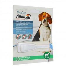 """Капли от блох и клещей для собак от 10 до 20 кг """"Animall"""""""