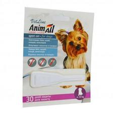 """Капли от блох и клещей для собак от 4 до 10 кг """"Animall"""""""