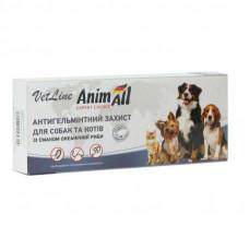 Таблетки от глистов для собак и кошек Animall (1 таб)