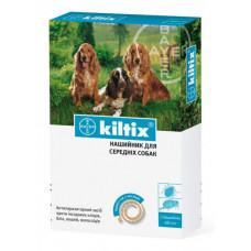 Ошейник от блох и клещей для средних собак 48 см, Kiltix (Килтикс)