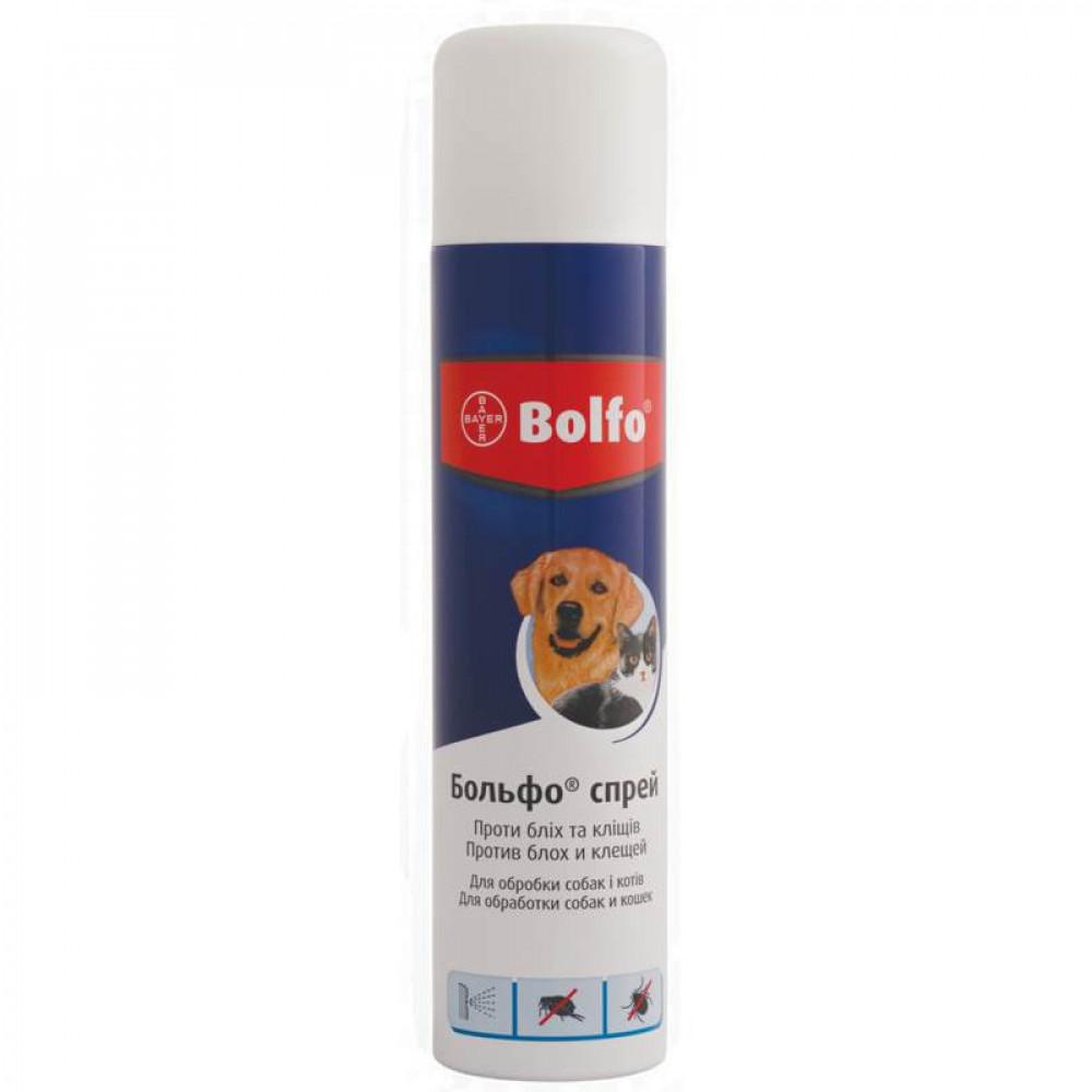 Bolfo (Больфо) спрей от блох и клещей для собак и котов 250 мл