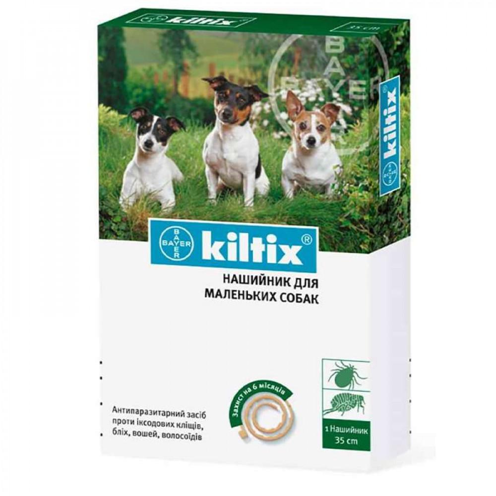 Ошейник от блох и клещей для мелких собак 35 см, Kiltix (Килтикс)