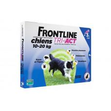 Капли Фронтлайн (Frontline TRI-ACT) от клещей, блох и комаров для собак весом от 10 до 20 кг