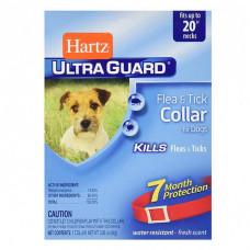 Hartz Ultra Guard Flea&Tick ошейник против блох и клещей (для щенков и собак) красный