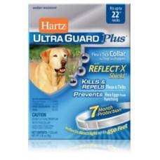 Hartz UltraGuard PLUS Ошейник против блох, яиц блох и клещей (для щенков и собак) светоотражающий 55 см