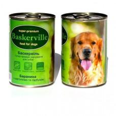 Консерва для собак Baskerville баранина, картофель и тыква
